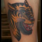 Bert Grimm Tiger Tattoo