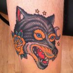 The other wolf tattoo