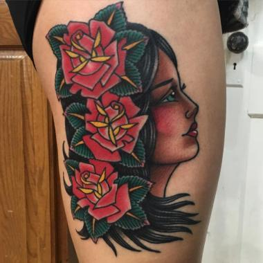 hey ladies!, minneapolis tattoo shops, minnesota tattoo shops, mn tattoo, mpls tattoo, traditional tattoo, traditional tattoos