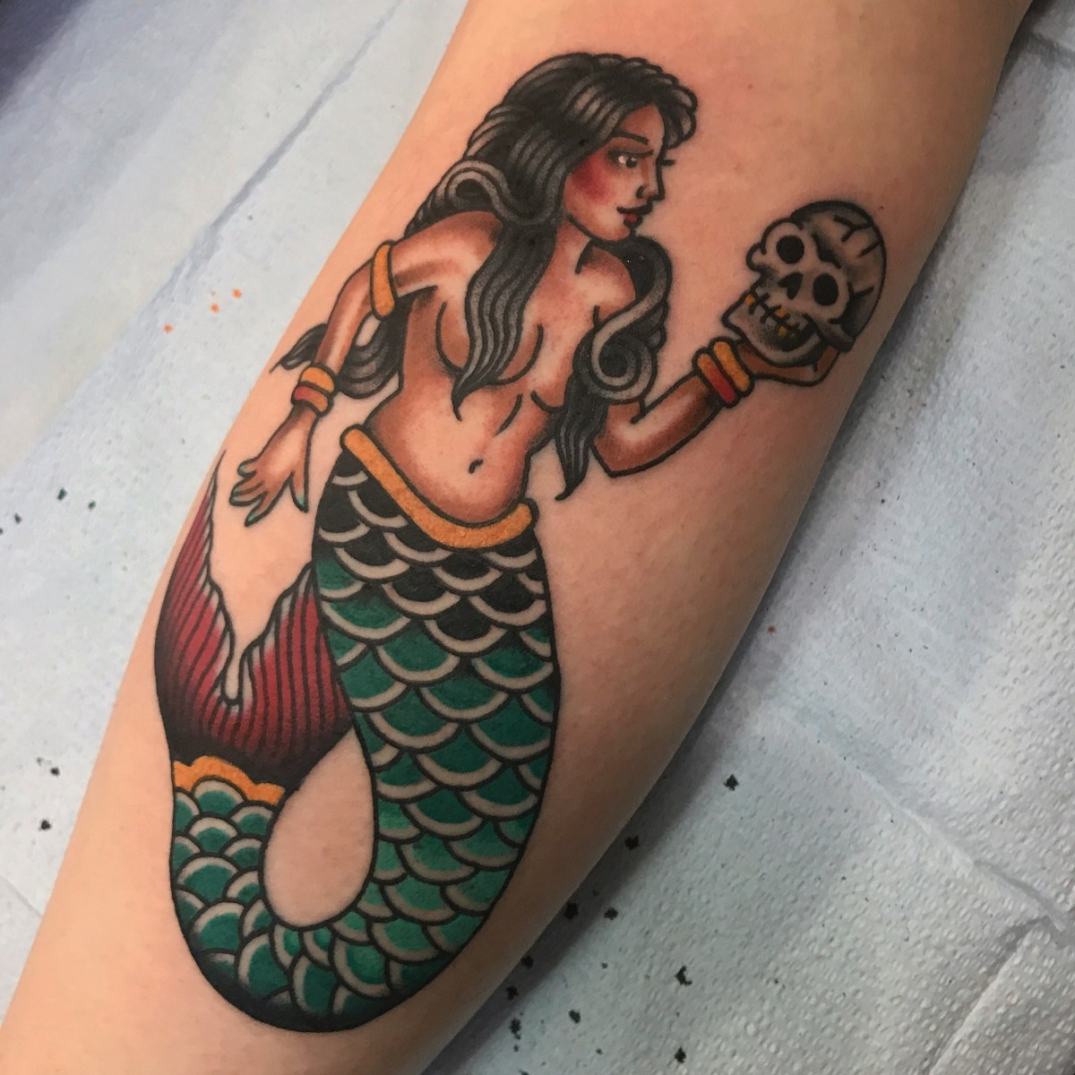 Mermaid and some other lady tattoos!