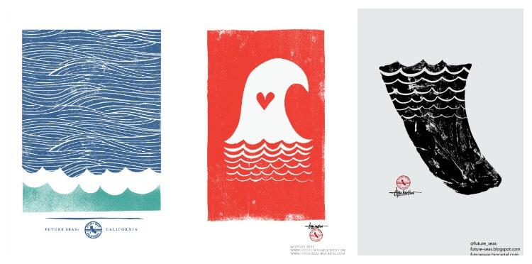 Kunstdrucke für Surfer von Alex Krastev
