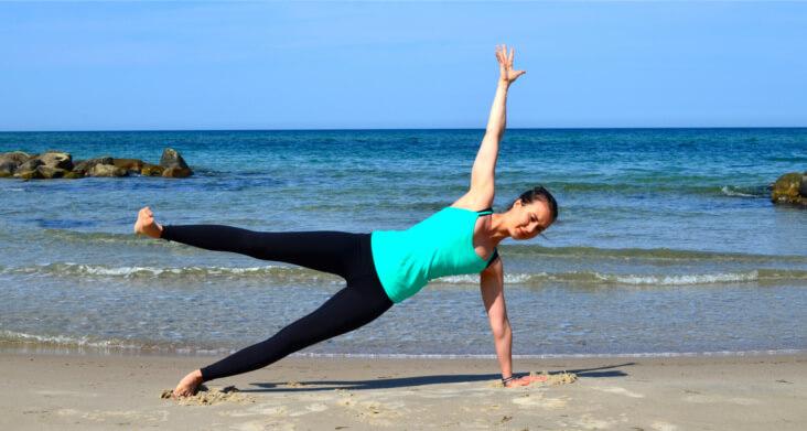 Yoga für Surfer_Side Plank schwer
