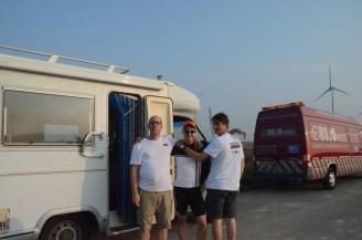 Daan en Niels: part of the crew.
