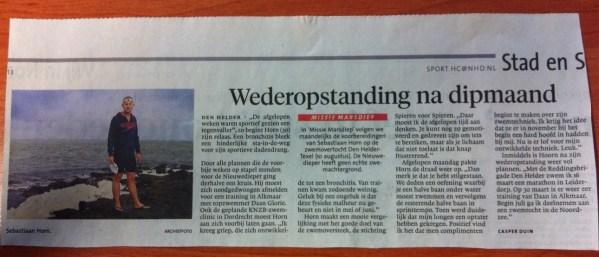 NHD Helderse Courant 08-02-2013