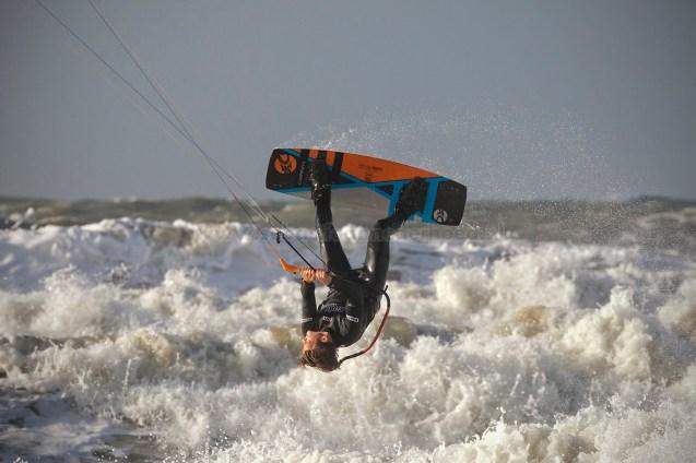 NK Kiteboarden op Scheveningen