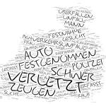 Charlottenburg-Wilmersdorf - Wordcloud Polizeimeldungen