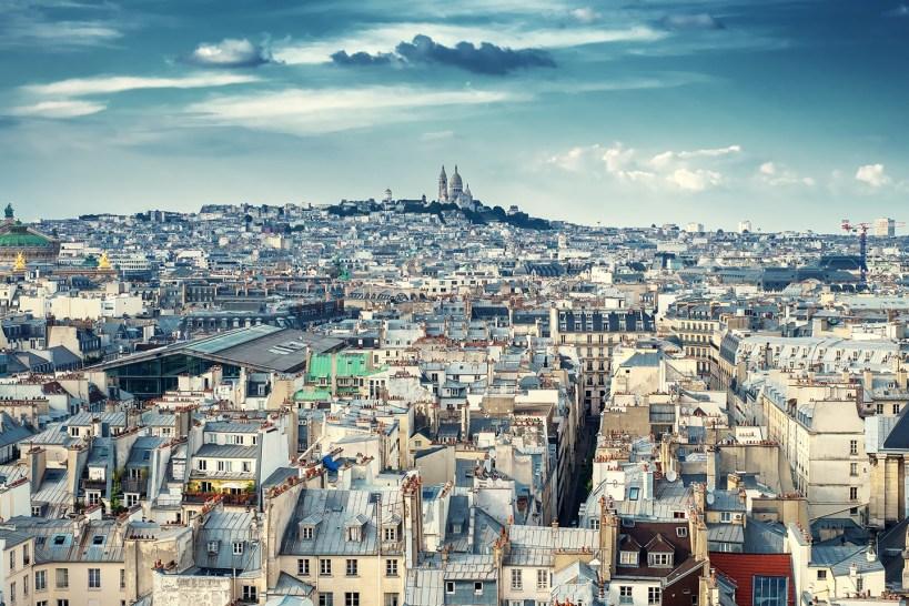 View over Montmartre