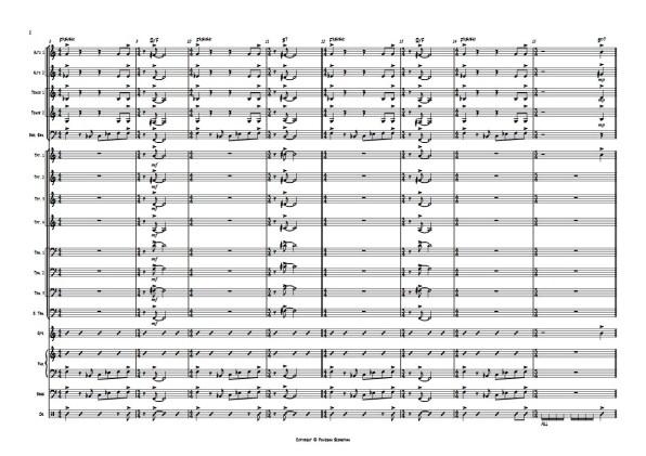 FUNKY FEELING SCORE 02 - Sebastian Piovesan