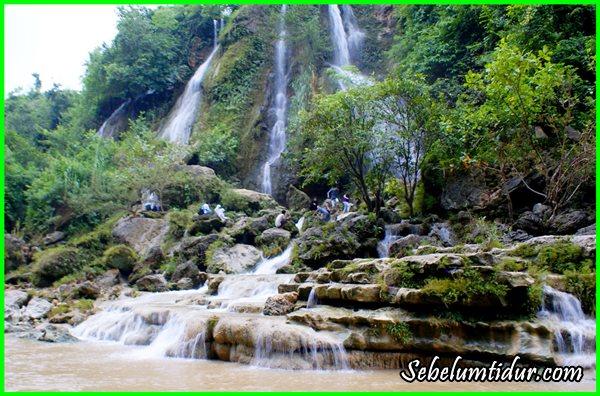 tempat wisata di Gunung Kidul, air terjun Sri Gethuk, Tempat wisata yang romantis