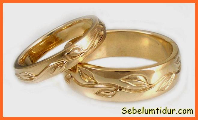 model cincin nikah yang unik
