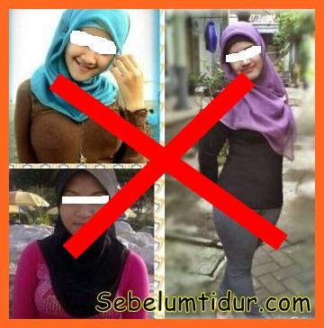 jilbab yg salah