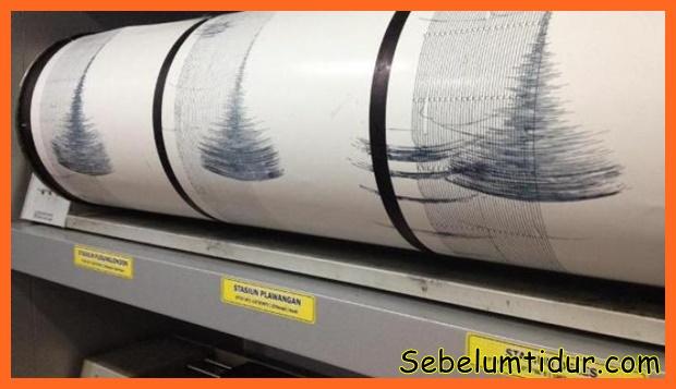 Tanda tanda gempa bumi