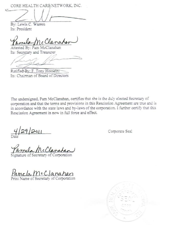Contract Rescission Letter Newsinvitation