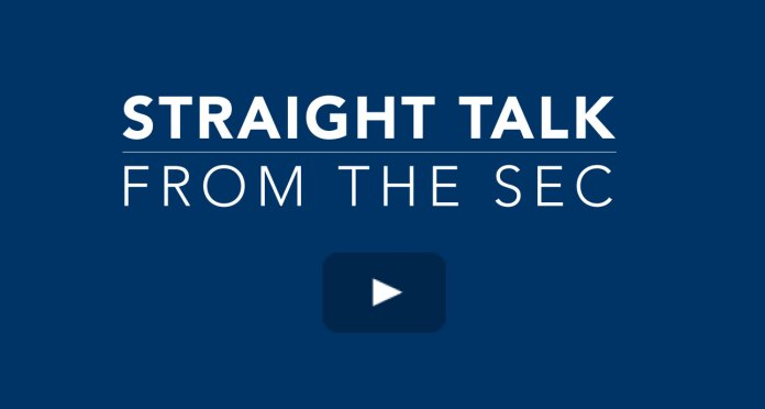 Straight Talk from the SEC Video