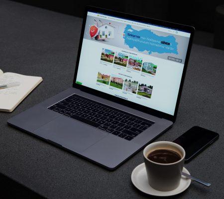 Güven Prefabrik Web Sitesi