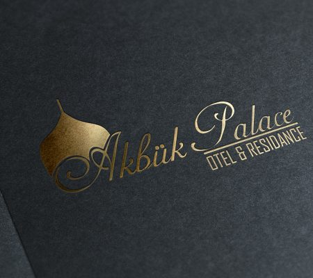 akbük palace logo tasarımı