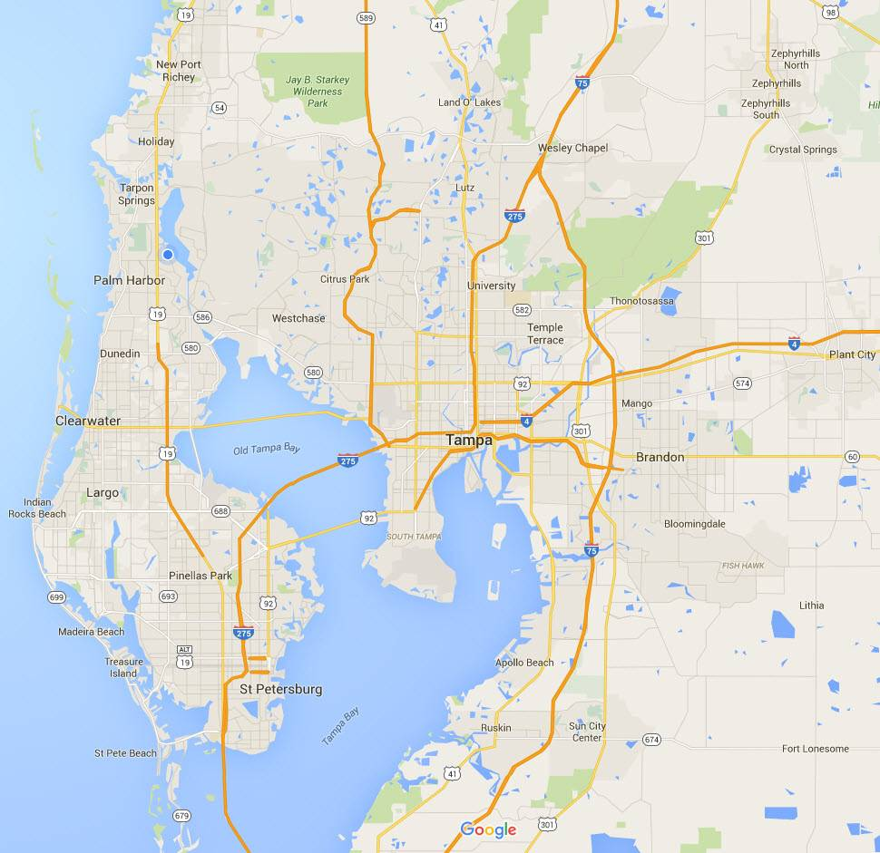 our service area where we preform inspections, both residential and commercial throughout the Tampa Bay area!