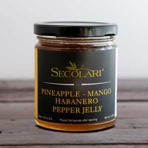 Pineapple Mango Habanero Pepper Jelly-0