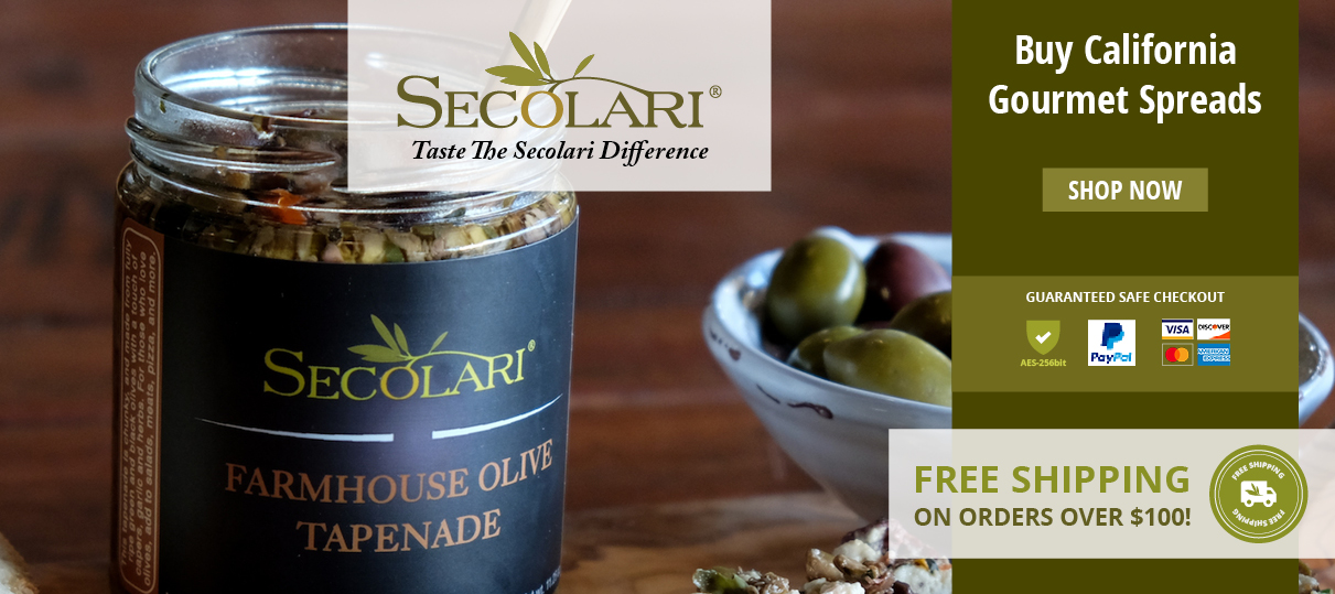 Artisan Olive Oils & Vinegar, Balsamic, Gourmet & Seasonings | Secolari®