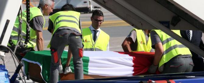 Strage di Nizza, arrivate a Malpensa le salme delle vittime italiane
