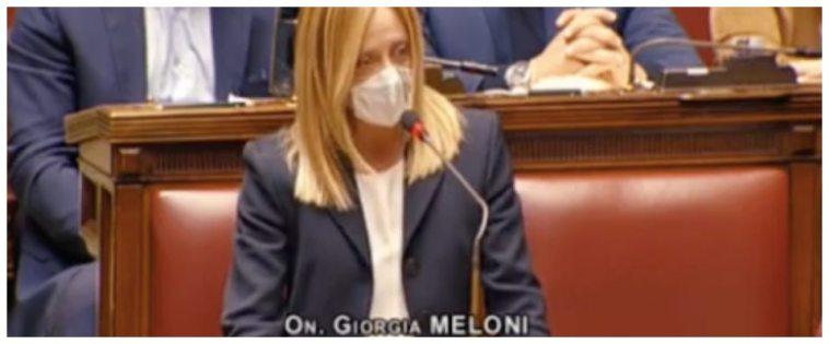 Cgil, Meloni inchioda Lamorgese: «Lo avete consentito. È tornata la strategia della tensione» (video)