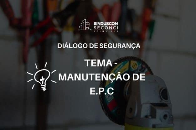 Manutenção de EPC