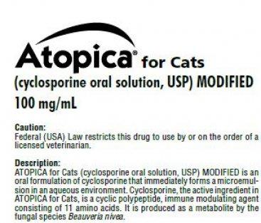 Atopica Cat Product Insert
