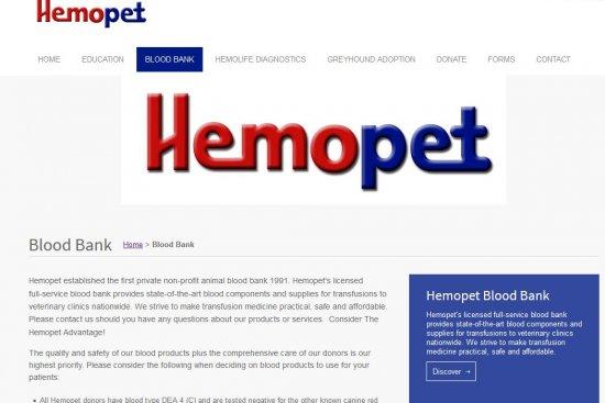 Hemopet Blood Bank