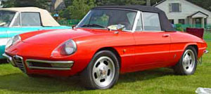 1967 Alpha Romeo Duetto Spider