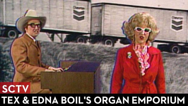 SCTV Tex & Edna Boil's Organ Emporium