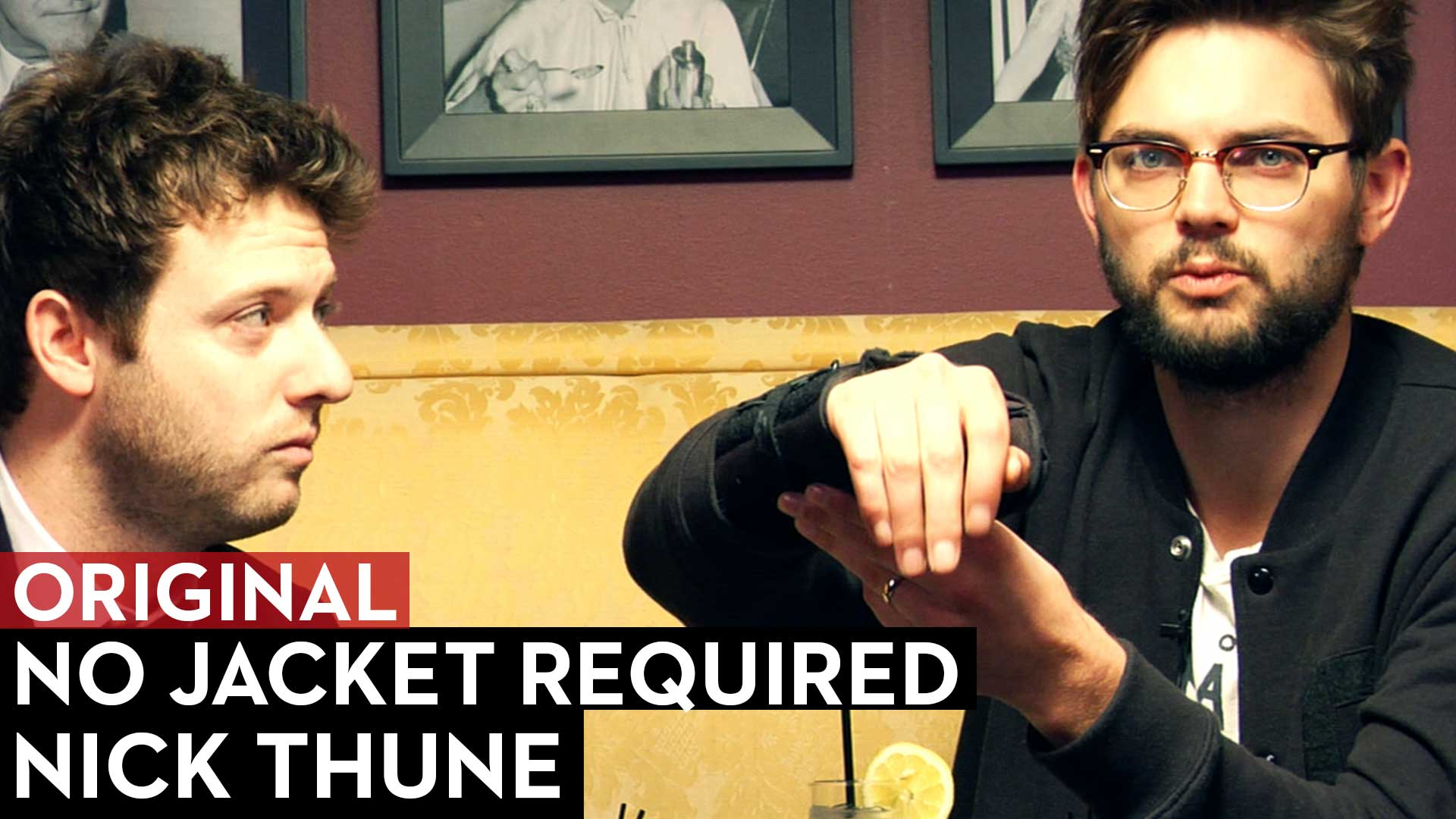 Nick Thune on No Jacket Required