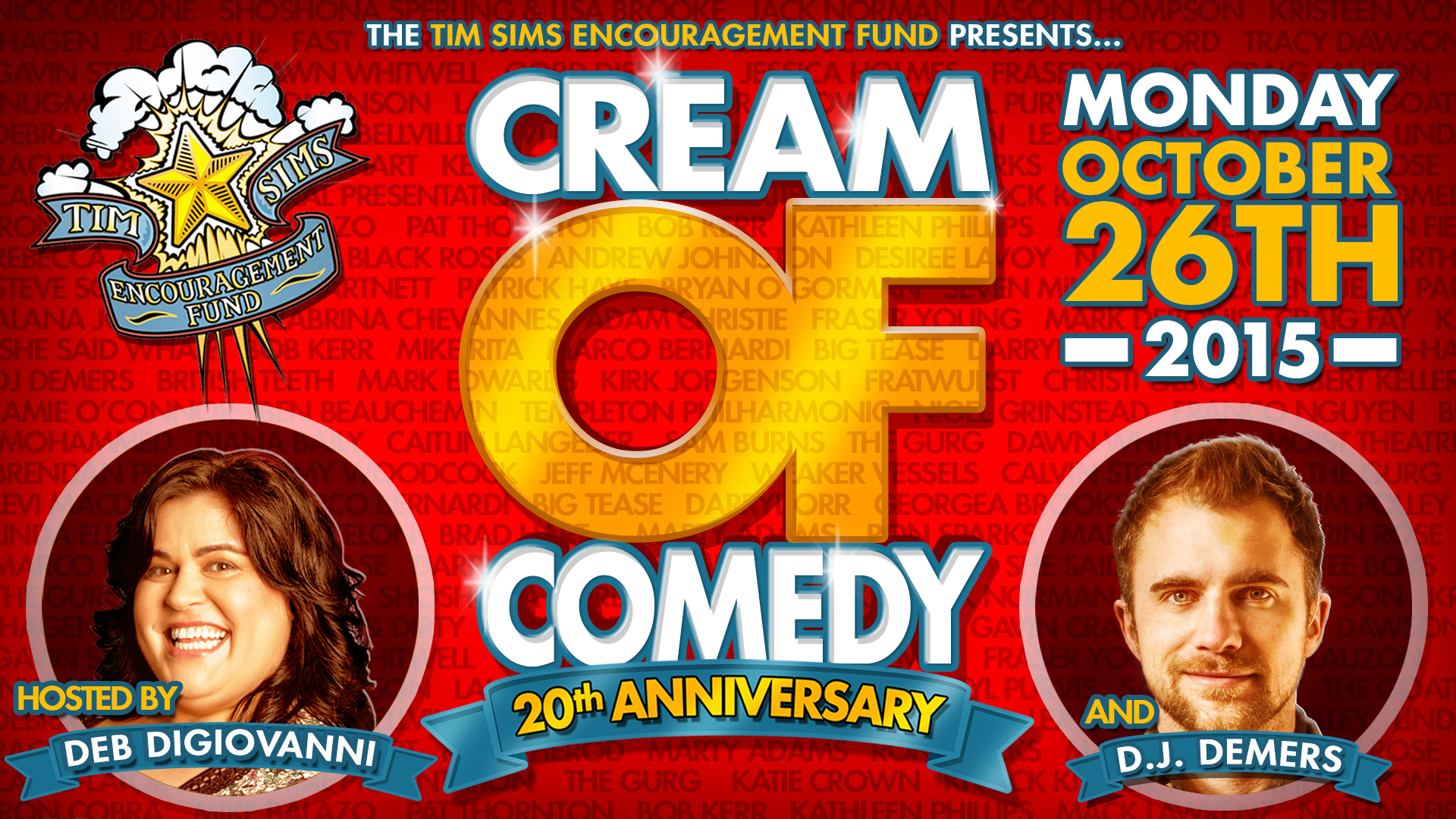 Cream Of Comedy 20th Anniversary