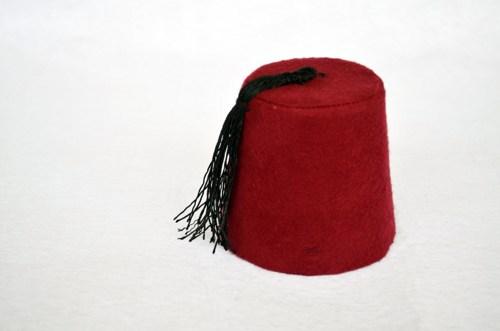 Fez Cylindrical Hat