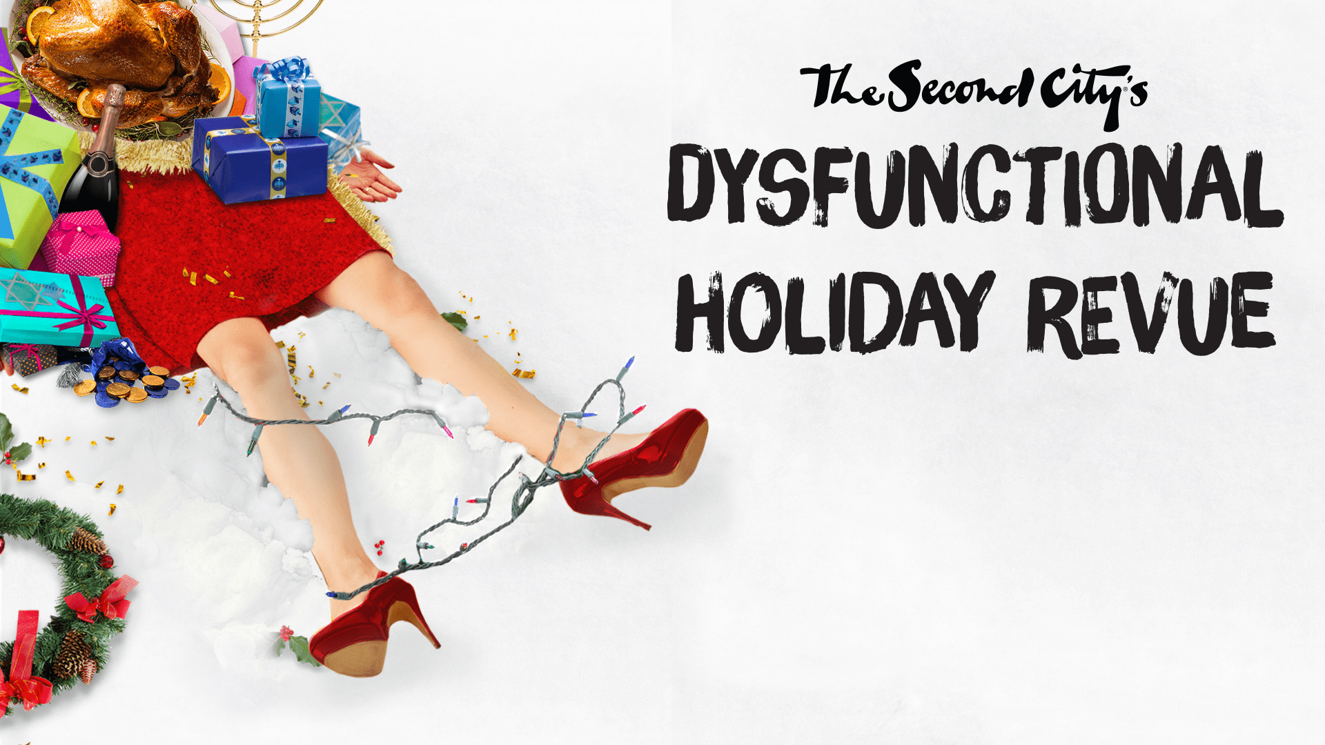 dysfunctional holiday revue schedule the second city