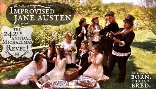 The Ladies of Improvised Jane Austen Present: The 242 Annual Michaelmas Revel