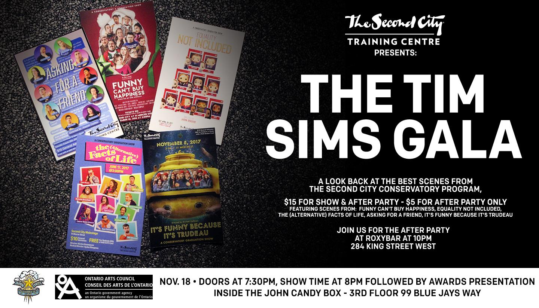 The Tim Sims Gala