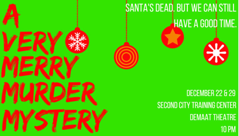 A Very Merry Murder Mystery