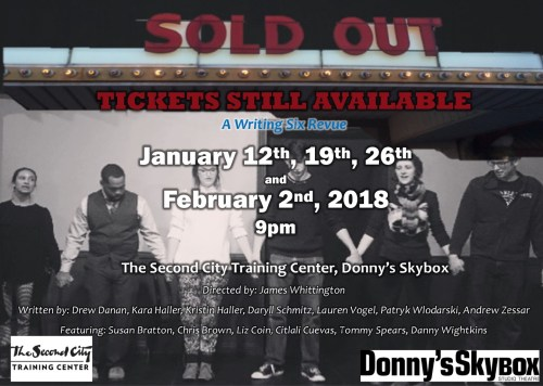 SOLD OUT: Tickets Still Available