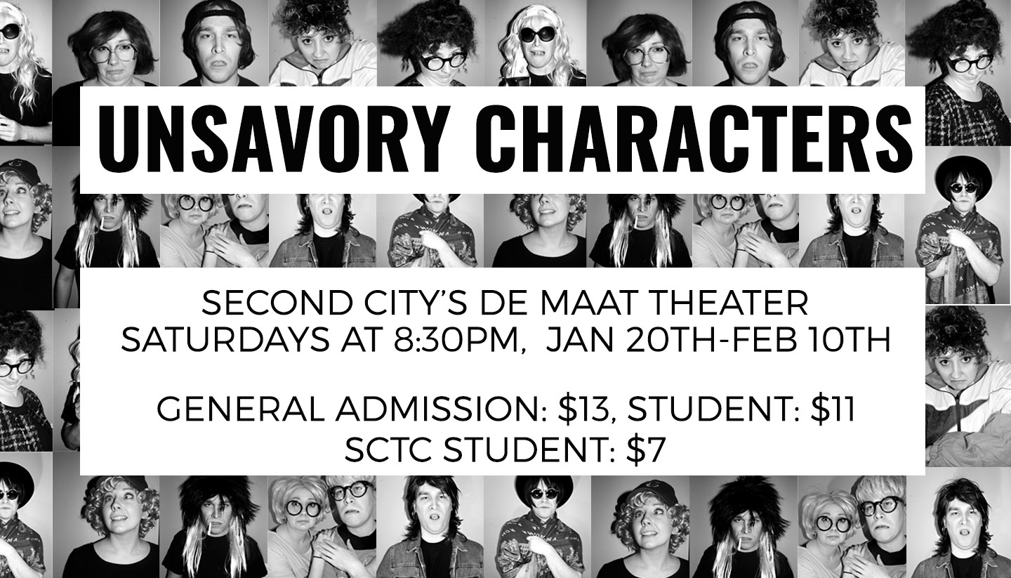 Devin & Sarah Present: Unsavory Characters
