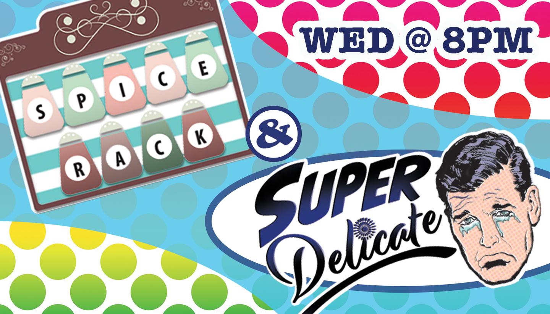 Super Delicate & Spice Rack - SC Sketch Ensemble