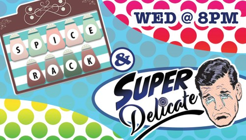 Super Delicate & Spice Rack – SC Sketch Ensemble
