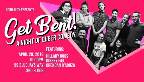 Get Bent! A Night of Queer Comedy