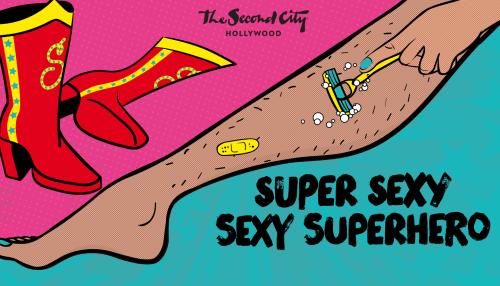 Super Sexy Sexy Superhero