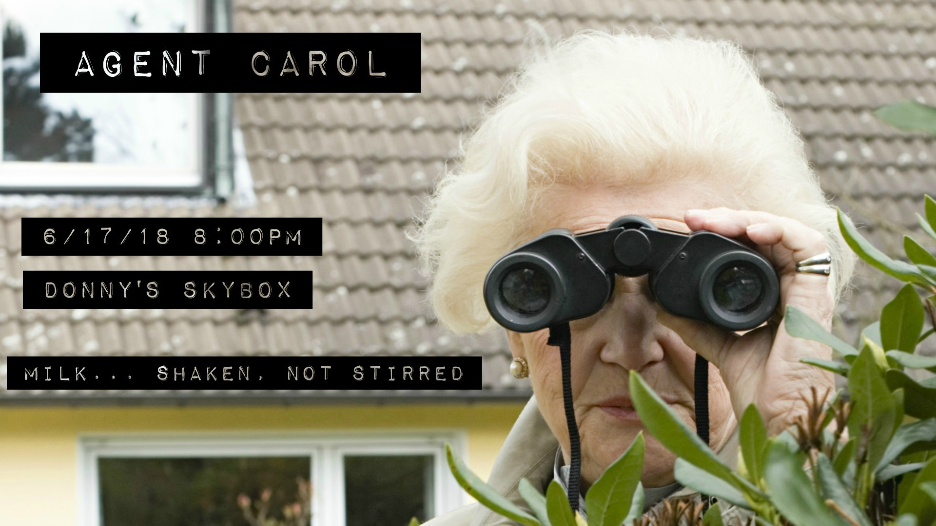 Agent Carol featuring Pegasus Vin Diesel