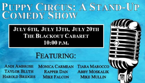 Puppy Circus: A Stand-Up Comedy Show
