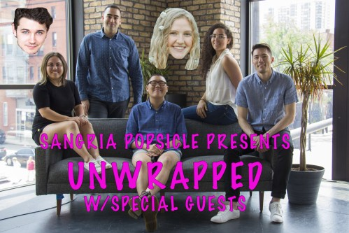 Sangria Popsicle Presents: Unwrapped