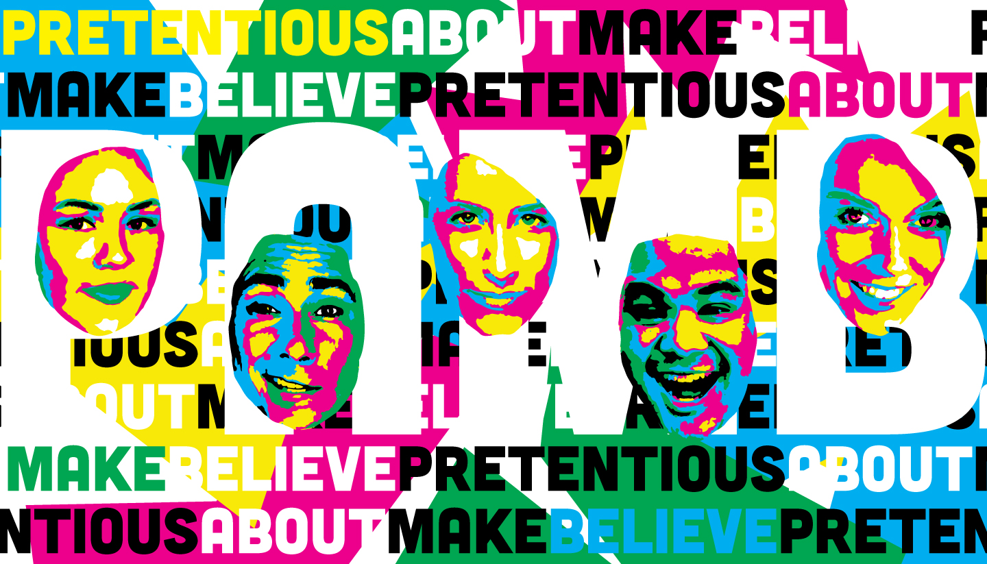 Pretentious About Make Believe