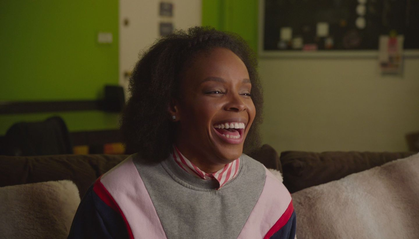 Amber Ruffin Loves Her Job, and Who Could Blame Her?