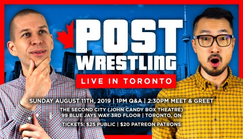 Post Wrestling: Live in Toronto!