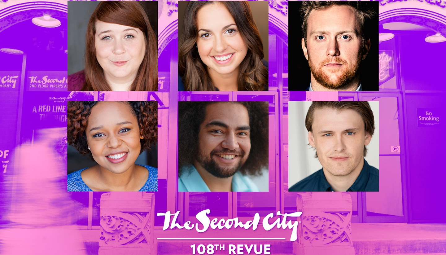 Behold the Cast of The Second City's 108th Mainstage Revue
